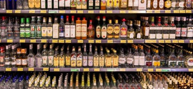 Alkol satışına yasak