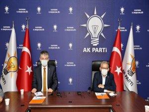 """Ak Parti İl Başkanı Çopuroğlu: """"Rabbim hep birlikte nice bayramlara eriştirsin"""""""