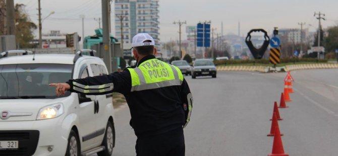 Kayseri trafik polisleri göz açtırmıyor bin 232 araç men edildi
