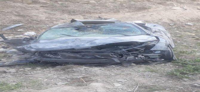 Bünyan'da feci kaza: 1 ölü,3 yaralı