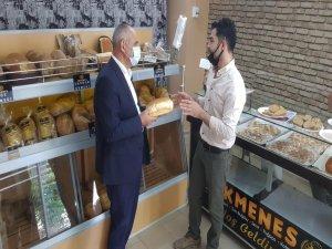 Başkan Öztürk yeni açılan ekmek fırınına hayırlı olsun ziyaretinden bulundu