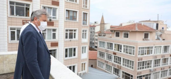 Melikgazi eski İşkur binasına sosyal tesis yapıyor