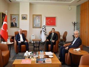 MHP KAYSERİ MİLLETVEKİLİ BAKİ ERSOY'DAN NURSAÇAN'A ZİYARET
