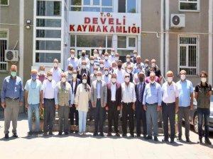 Develi'de Haziran ayı muhtarlar toplantısı yapıldı