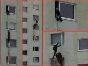 Rusya'da Karısı odaya kilitleyince