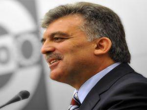 Cumhurbaşkanı  Abdullah Gül: