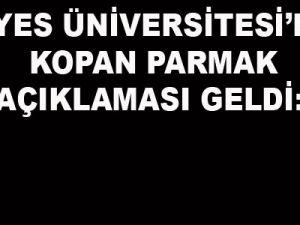 Erciyes Üniversitesi Başhekimi Kudret Doğru