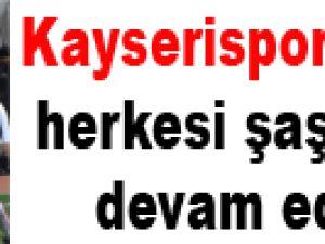 Kayserispor'lu salih herkesi şaşırtmaya devam ediyor