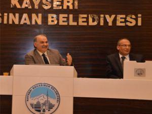 Kocasinan Belediye Meclisi 2013 yılı toplantısını yaptı