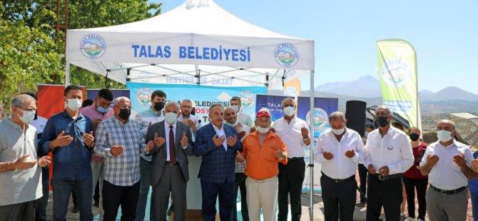Talas'ta Akçakaya Sosyal Tesisi'nin temeli atıldı