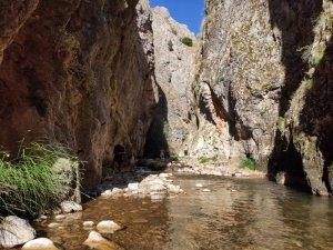 Doğa harikası Kıpız Kanyonu ziyaretçilerini bekliyor