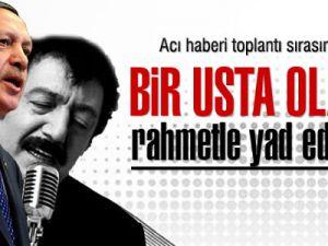 Başbakan Erdoğan'dan Müslüm Gürses'i