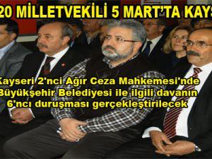 CHP Kayseri İl Danışma Kurulu Toplantısı il binasın da yapıldı