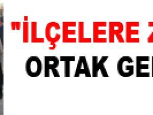 """""""İLÇELERE ZENGİN ORTAK GELİYOR"""""""
