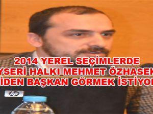 Başkan Özhaseki Türkiye'nin En Güvenilir Belediye Başkanı