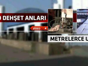 Sanayi bölgesinde gerçekleşen dehşet verici patlama-video