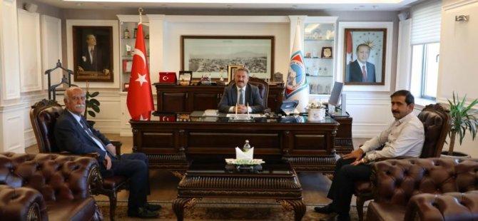 Kayseri Cem Evi yönetiminden Başkan Palancıoğlu'na ziyaret