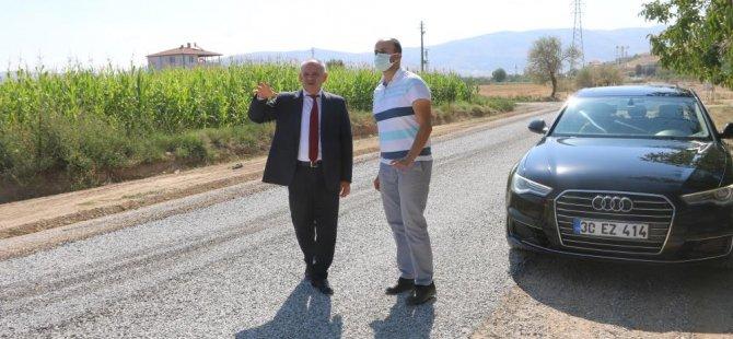 Başkan Öztürk 16 mahallede asfalt çalışmalarına başladı