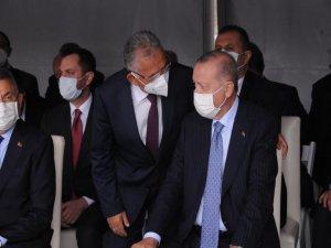 Büyükkılıç, Kırşehir'de Cumhurbaşkanı Erdoğan ile görüştü