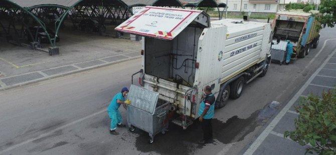 Daha temiz bir Kocasinan için azami özen gösteriyoruz