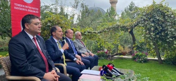 """Fatih Erbakan:  """"EYT'yi çözeceğiz"""""""
