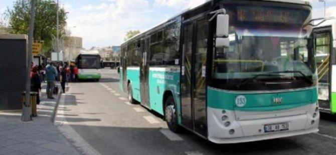 Kayseri'de toplu ulaşıma yüzde 20 zam yapıldı