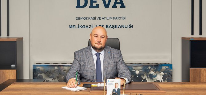 Deva Partisi Melikgazi İlçe Başkanı Türkyar ve 45 Kişilik Yönetim Kurulu İstifa Etti