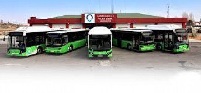 Kayseri'de otobüs biletlerine zam