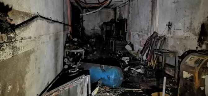 Yeni Sanayi'de elektrikçide LPG tüpü patladı: 1 ölü, 2 yaralı