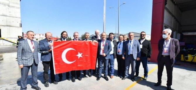 """Nursaçan: """"Türkiye'nin en güvenli OSB'siyiz"""""""