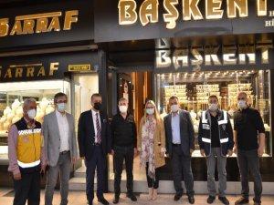 Kayseri'de korona virüs denetimleri devam ediyor