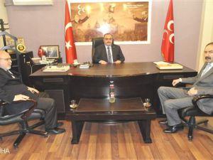 Kayseri Ticaret Odası Başkan Adayı Ömer Gülsoy'dan MHP'ye Ziyaret