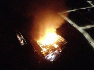 Kayseri Organize Bölgesi'nde fabrika yangını