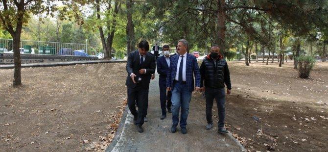 Melikgazi Belediyesi Belsin'e yeni park yapıyor