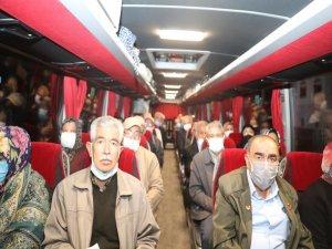 Kayserili gaziler Şanlıurfa'ya gitti