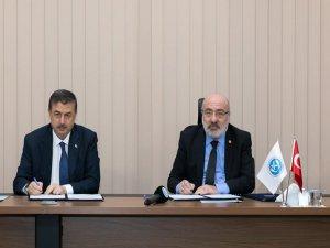 Yeşilhisar İlçesi'nde KAYÜ'ye Ait Binanın Belediyeye Tahsis Protokolü Yapıldı