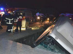 Kayseri'de Halk Otobüsü ile Otomobil Çarpıştı 10 Yaralı