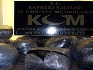 KAYSERİ EMNİYET'TEN BÜYÜK DARBE