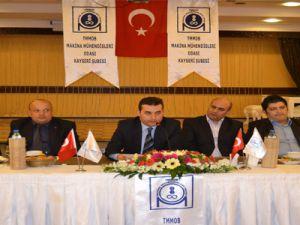 Makina Mühendisleri  Başkanı Mustafa Özkan:
