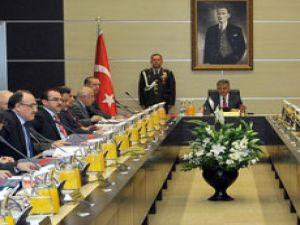 Cumhurbaşkanı Abdullah Gül başkanlığında Çankaya Köşkü'nde yapılan