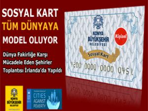 Konya Büyükşehir Belediyesi'nin ekonomik olarak dezavantajlı ailelere yönelik sürdürdüğü