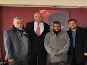 Filistin seydişehir belediyesini ziyaret etti