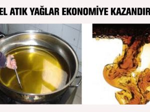 Konya Büyükşehir Belediyesi, bitkisel atık yağların: