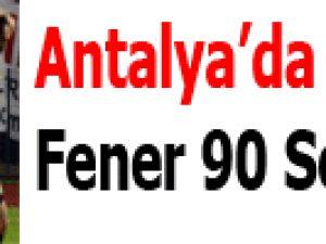 Antalya'da Webo Sow!..