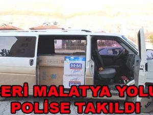 KAYSERİ MALATYA YOLUNDA POLİSE TAKILDI