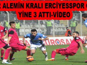 ERCİYESSPOR GELİYOR YİNE 3 ATTI-video