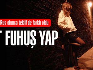 İstanbul'da Rus eşine Git fuhuş yap dedi