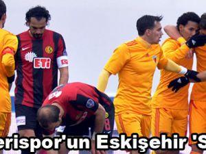 Kayserispor'un Eskişehir 'Sefa'sı