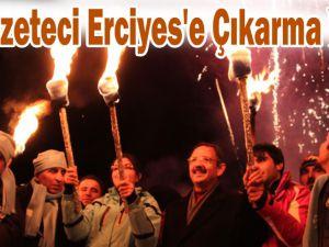Sinan Burhan 70 Gazeteciyi Erciyes'e Getirdi