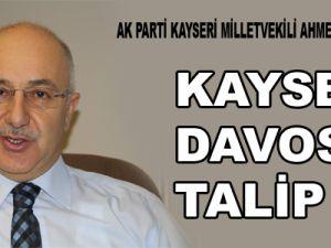 ÖKSÜZKAYA:KAYSERİ DAVOS'A TALİP